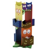 Owls Revolving Bookcase