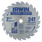Carbide-Tipped Circular Saw Blades - 7-1/4 -24t american tool