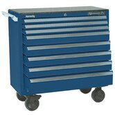 Maintenance Pro� Carts - 00881 smooth blue 8 drawer maint. pro cart