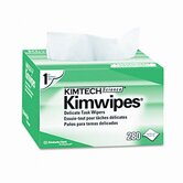 KIMWIPES Ex-L Delicate Task Wipes, Cloth, 4-1/2 x 8-1/2, 280/box