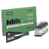 Klik Plastic Rivet Kit