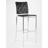 Carlsen Bar Chair in Black Set of 2