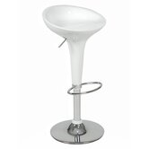 Ashley Adjustable Bar Stool in White