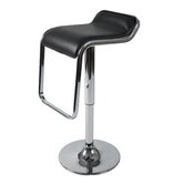 Furgus Adjustable Bar Stool in Black