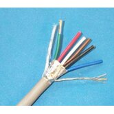 18 AWG 6 Conductor Shielded Drain Wire