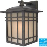 Hillcrest Medium Flourescent  Outdoor Wall Lantern in Imperial Bronze - Energy Star