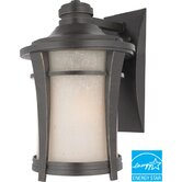 Harmony Medium Flourescent  Outdoor Wall Lantern in Imperial Bronze - Energy Star