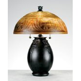 Glenhaven  Table Lamp in Teco Rossa