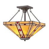 Noah 2 Light Semi Flush Mount