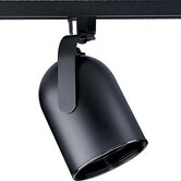 AlphaTrak Black Roundback Track Lighting Head (75w PAR 30 long neck)