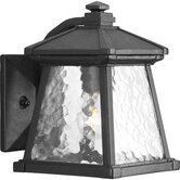 "6.5"" Mac One Light Outdoor Lantern in Textured Black Powder Coat"