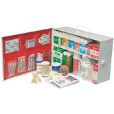 Swift First Aid - Small Industrial 140 First Aid Cabinets 2 Shelf Standard - Pumpspray W/Liner: 714-34140Lfp - 2 shelf standard - pumpspray w/liner