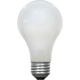 A19 52 Watt 120 V Incandescent Bulb in Standard Coat (Set of 4)
