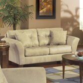Riviera Tufted Loveseat