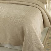 French Tile Bedspread in Gold