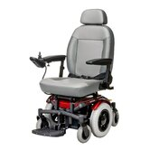"6 Runner Power Chair with 14"" Wheel in Red"
