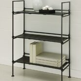 Three Tier Shelf in Black