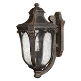 Trafalgar Outdoor Hanging Lantern in Mocha - Energy Star Optional