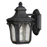 "Trafalgar  10"" x 6"" Outdoor Hanging Lantern in Museum Black"