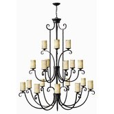 Casa 18 Light Chandelier