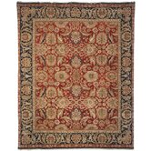 Old World Red/Navy Agra Rug