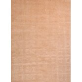 Tibetan Greek Key Ivory Rug