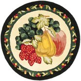 Fruit Tray Novelty Rug