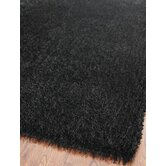 Paris Shag Black Rug