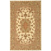 Persian Court Ivory/Green Rug