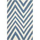 Dhurries Blue/Ivory Rug