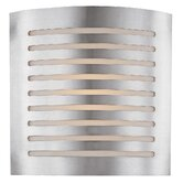 Krypton 12&quot;  Wall Sconce with Opal glass in Brushed Steel