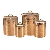 Hammered Canister (Set of 4)