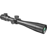 "3.5-10x40 IR, Riflescope, Black Matte, 30mm, with 5"" Shade and 5/8"" Rings, IR Mil-Dot"