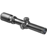 1.25-4.5x26 Euro-30 Riflescope, Black Matte, 30mm, 4A, 5/8&quot; Rings