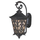 Bientina Outdoor Wall Lantern in Slate