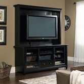 Edge Water Entertainment Center in Estate Black