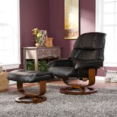 Dawn Ergonomic Recliner and Ottoman