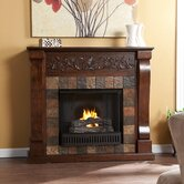 Belgrave Slate Gel Fuel Electric Fireplace