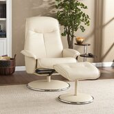 Jennings Ergonomic Recliner with Ottoman