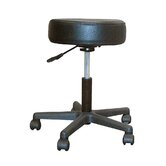 Height Adjustable Stool with Saddle Seat