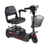 Phoenix 3 Wheel Compact Portable Travel Power Scooter in Red