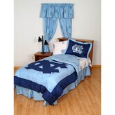UNC Bed in a Bag with Team Colored Sheets