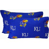 Kansas Jayhawks Pillow Case Set