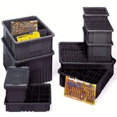 "Conductive Dividable Grid Storage Containers (3"" H x 17 1/2"" W x 22 1/2"" D)"