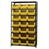 8 Shelf Giant Open Hopper Magnum Storage Unit