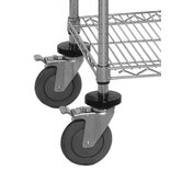 Mobile Kit for Q-Stor Wire Shelving