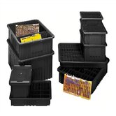"Conductive Dividable Grid Storage Containers (12"" H x 17 1/2"" W x 22 1/2"" D)"