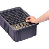 Conductive Dividable Grid Storage Container Long Dividers for DG92060CO