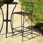 Folding Classic Iron Bar Stool