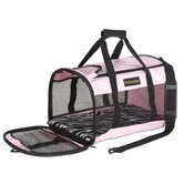 Soft Side Kennel Cab Pet Carrier in Pink